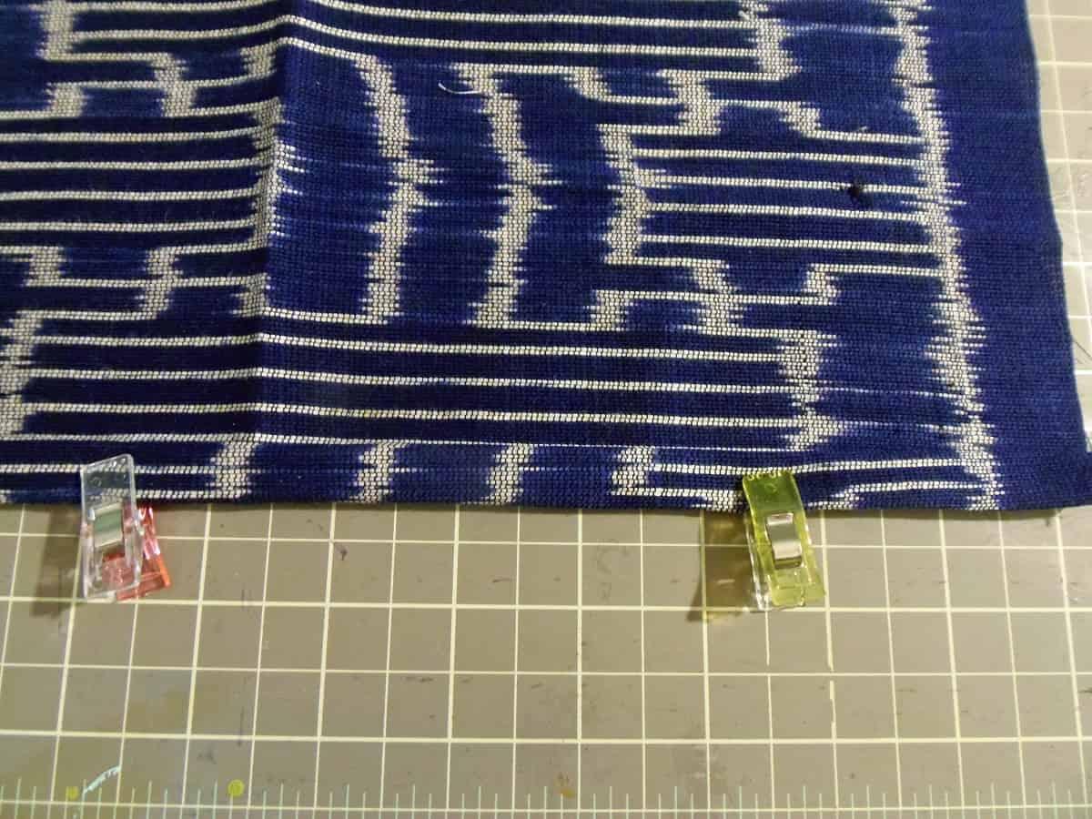 Pin Towel Hem
