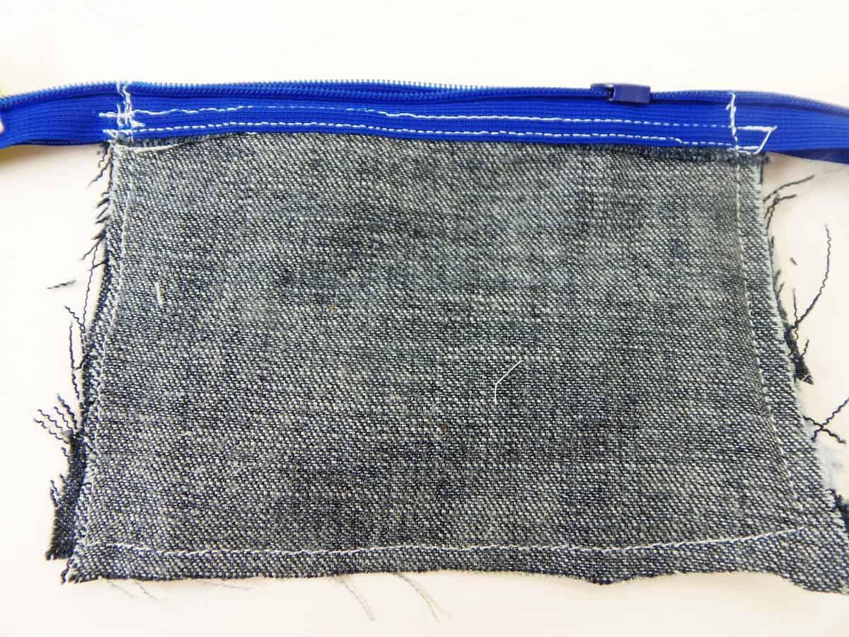 Sew a 1/4-Inch Seam Around Coin Purse