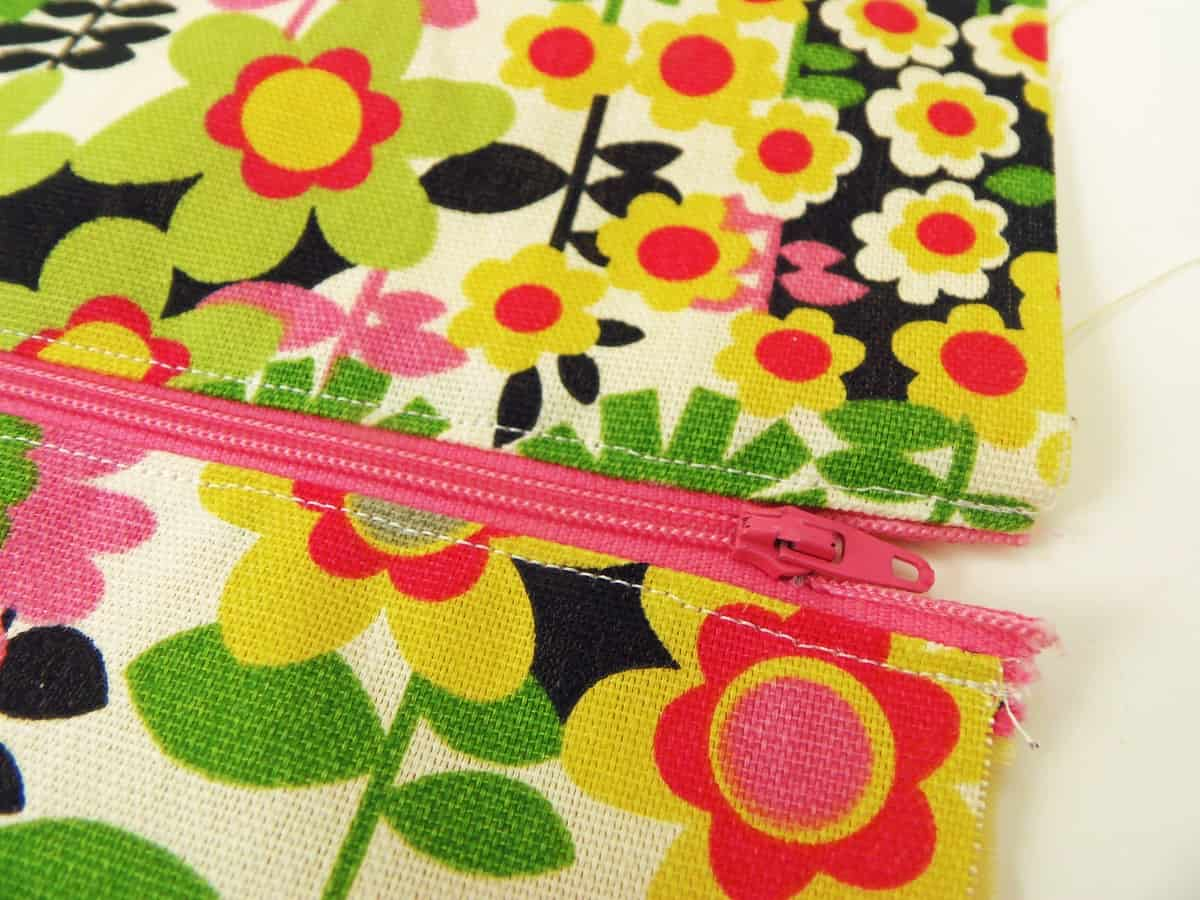 Sew a Seam Along Each Side of the Zipper to Keep the Lining From Getting Stuck in the Zipper