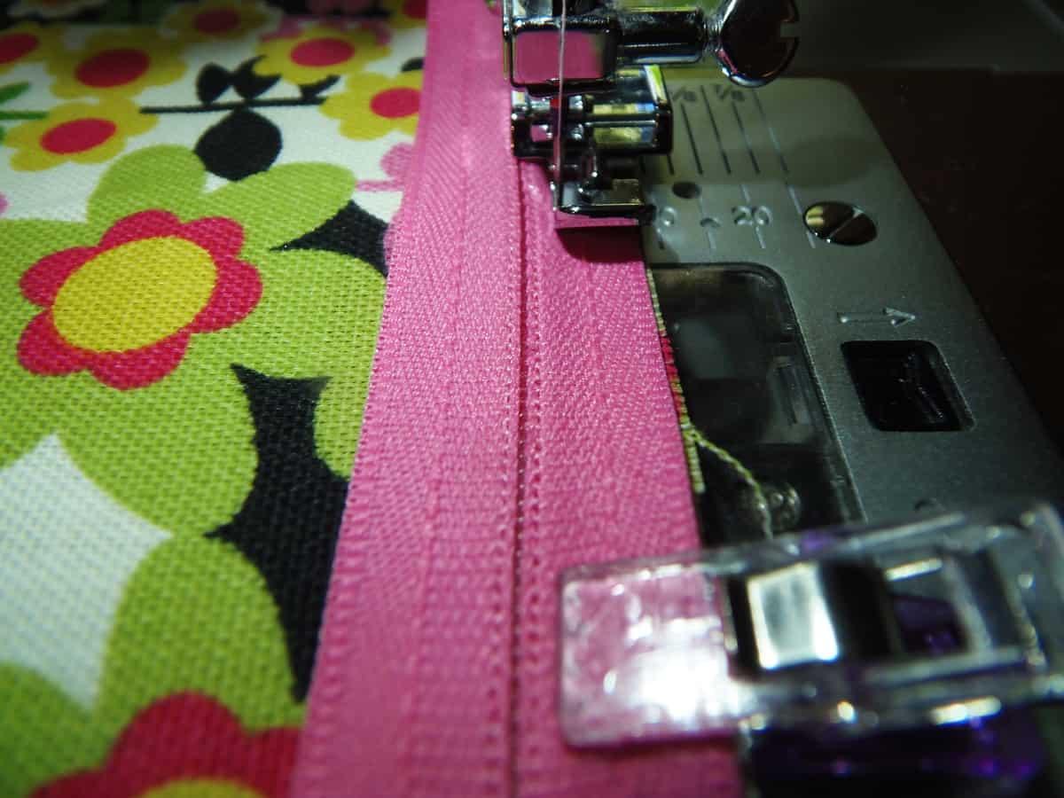 Sew Close to Zipper
