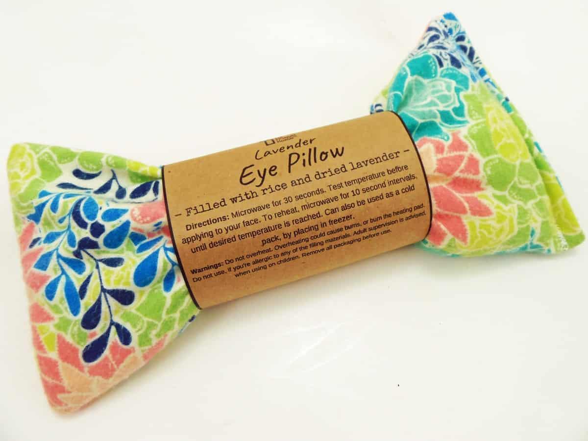 Succulent Eye Pillow