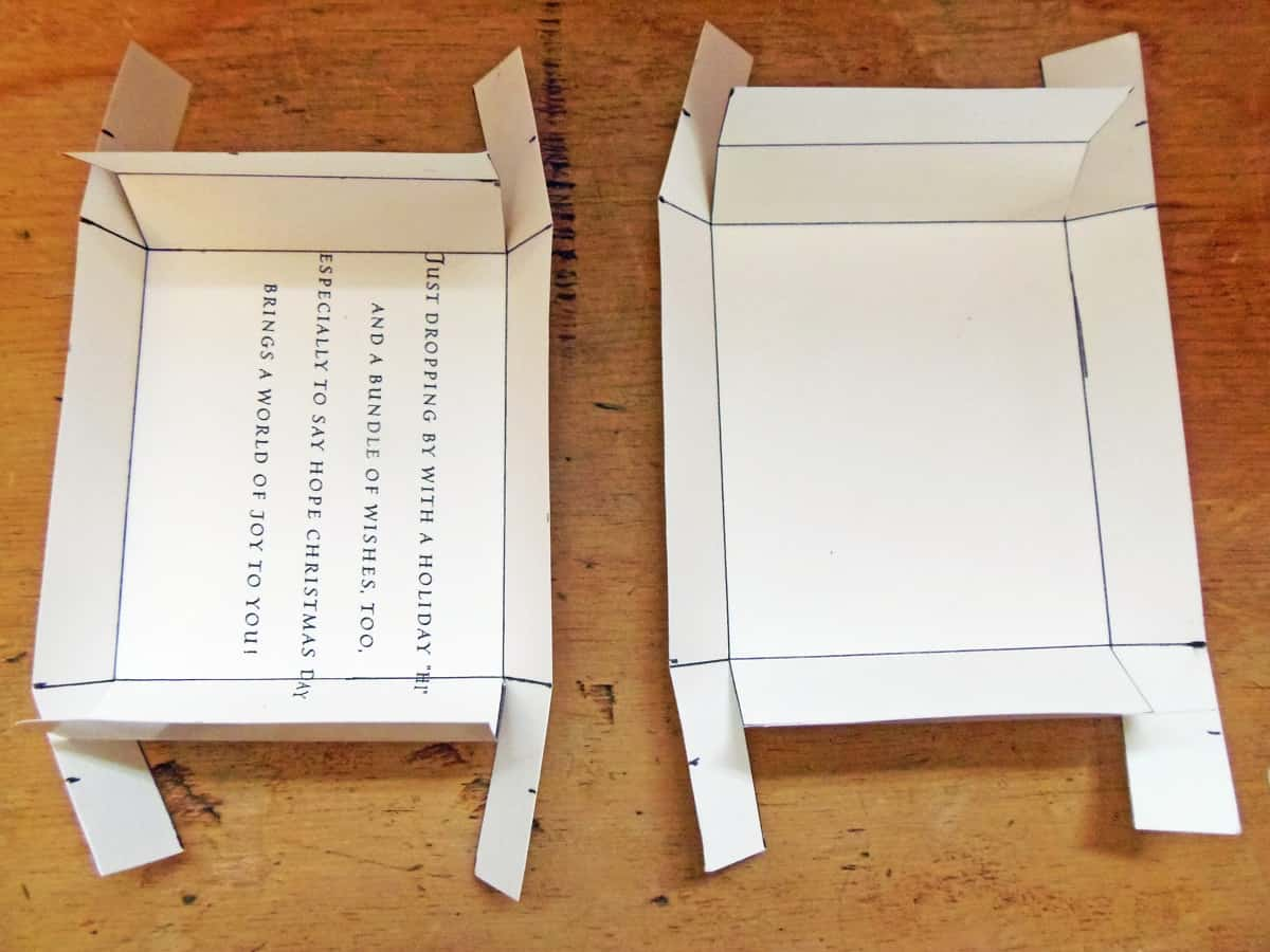 Fold the Sides of the Box