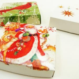 How to Make a Gift Box Out of a Greeting Card
