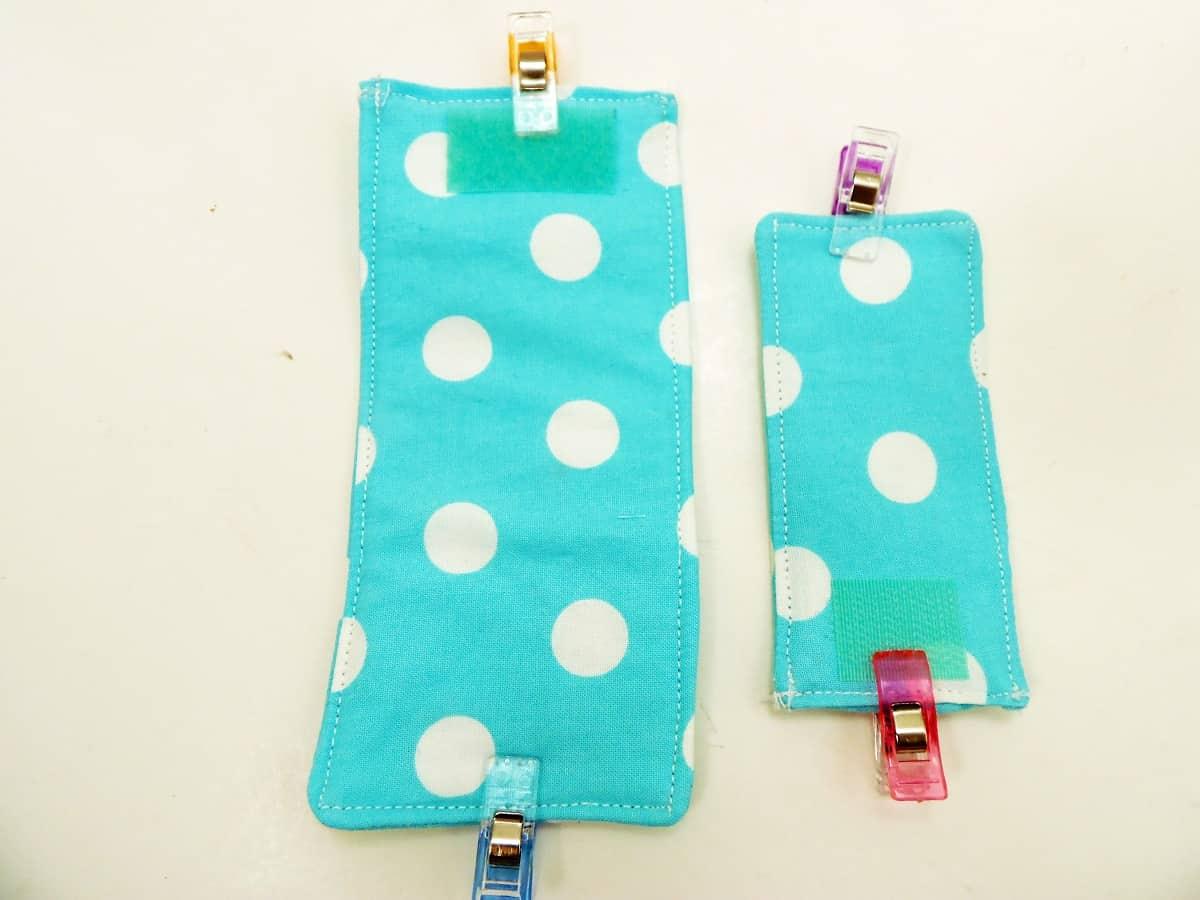 Pin Velcro to Cord Wraps