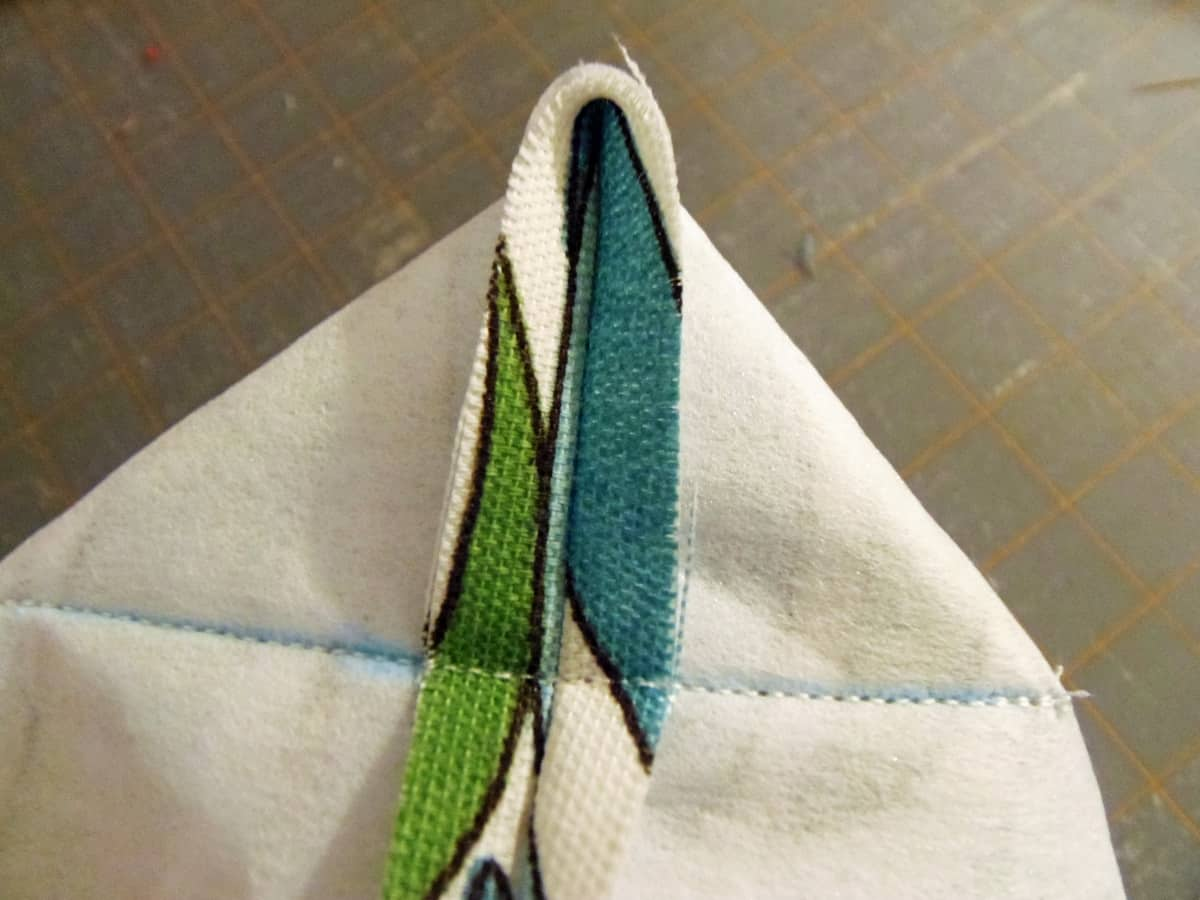 Sew Across the Line You Drew