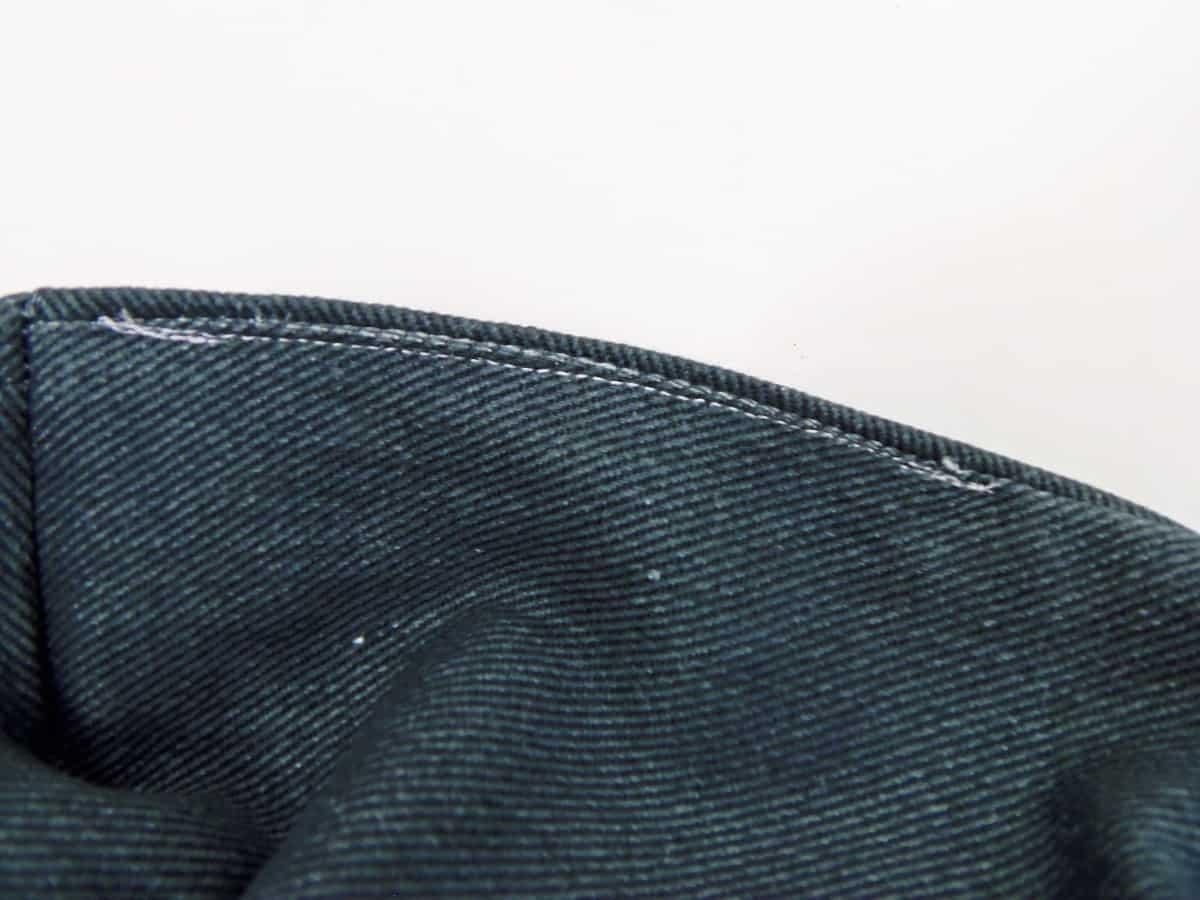 Sew Open Seam in Lining Shut
