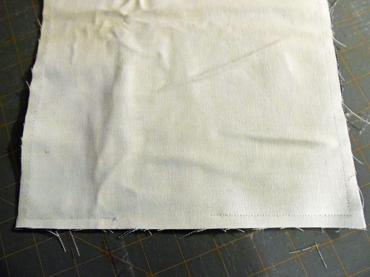 Sew Trash Bag Lining