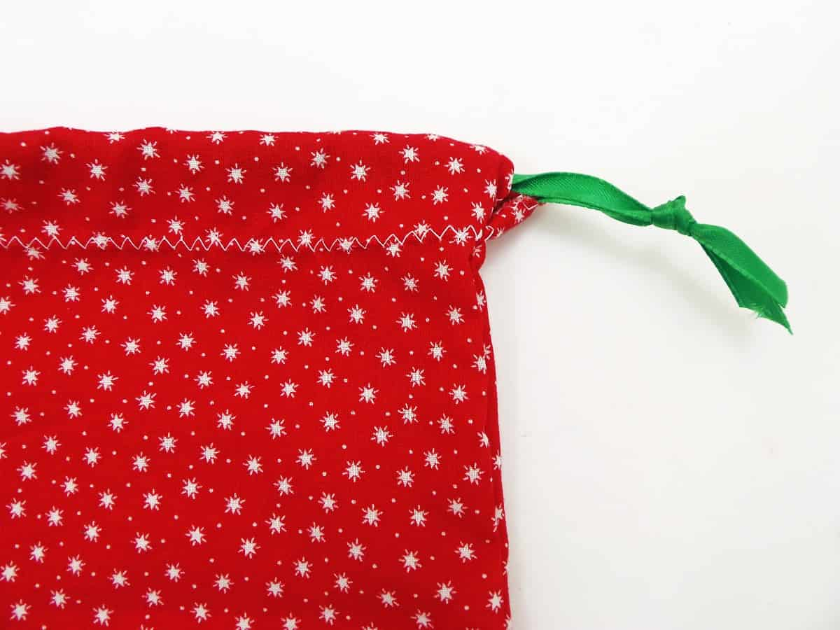 Tie a Knot in the End of the Drawstring