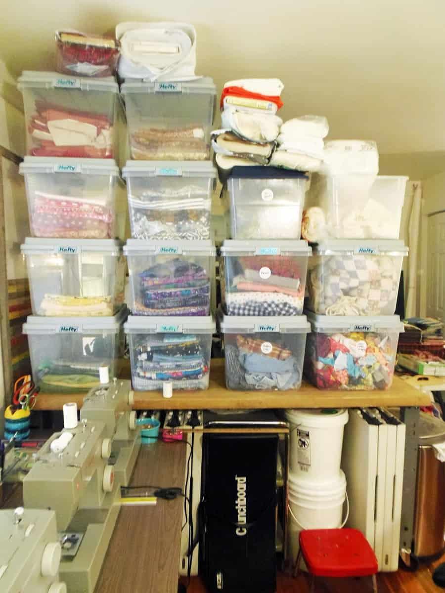 Cotton Fabric Storage