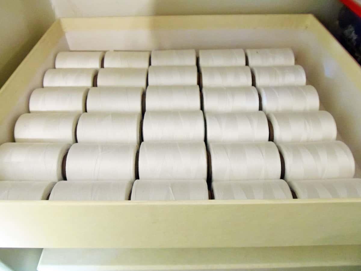 Cotton Thread Storage