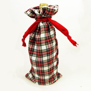 How to Sew a Drawstring Wine Bag
