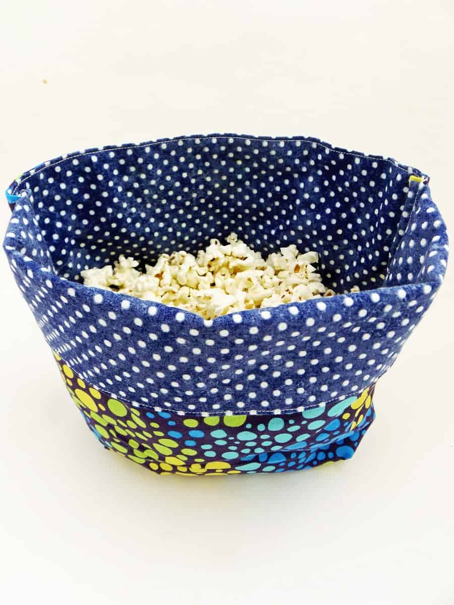 Microwave Popcorn Bag With Popcorn Inside