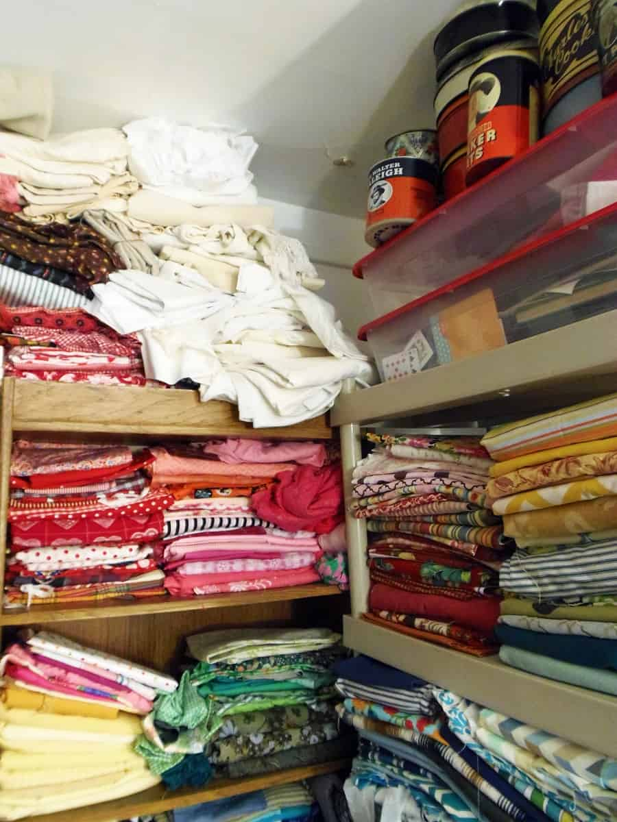 More Fabric Storage