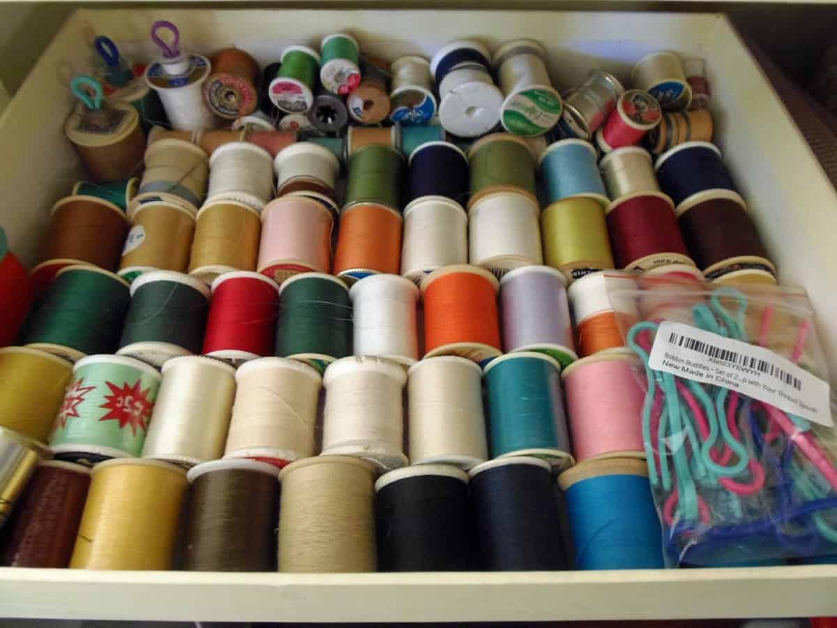 Polyester Thread Storage