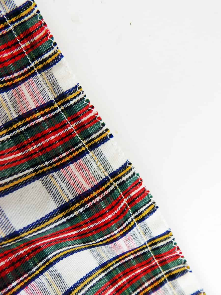 Sew a Half-Inch Seam Around Three Sides of Wine Bag