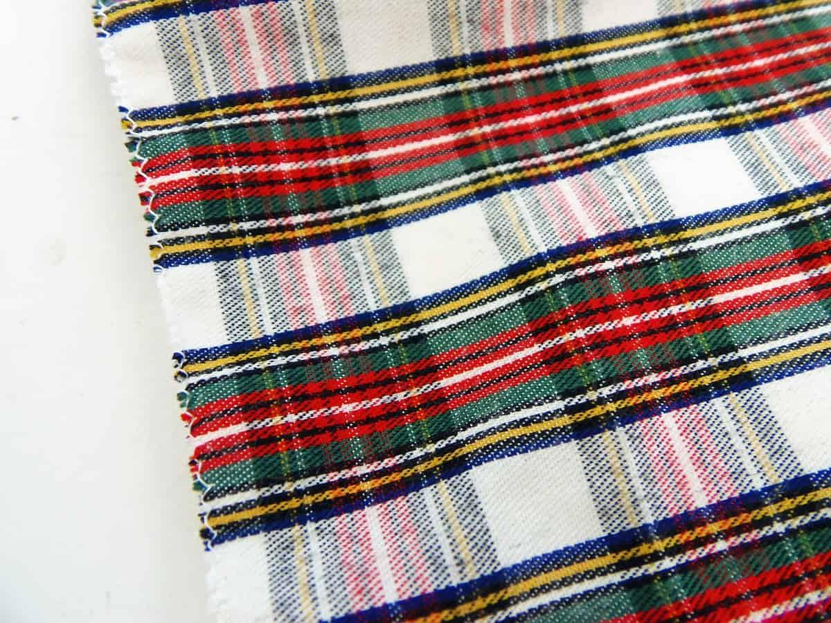 Zig-Zag Stitch Around Three Edges of Fabric