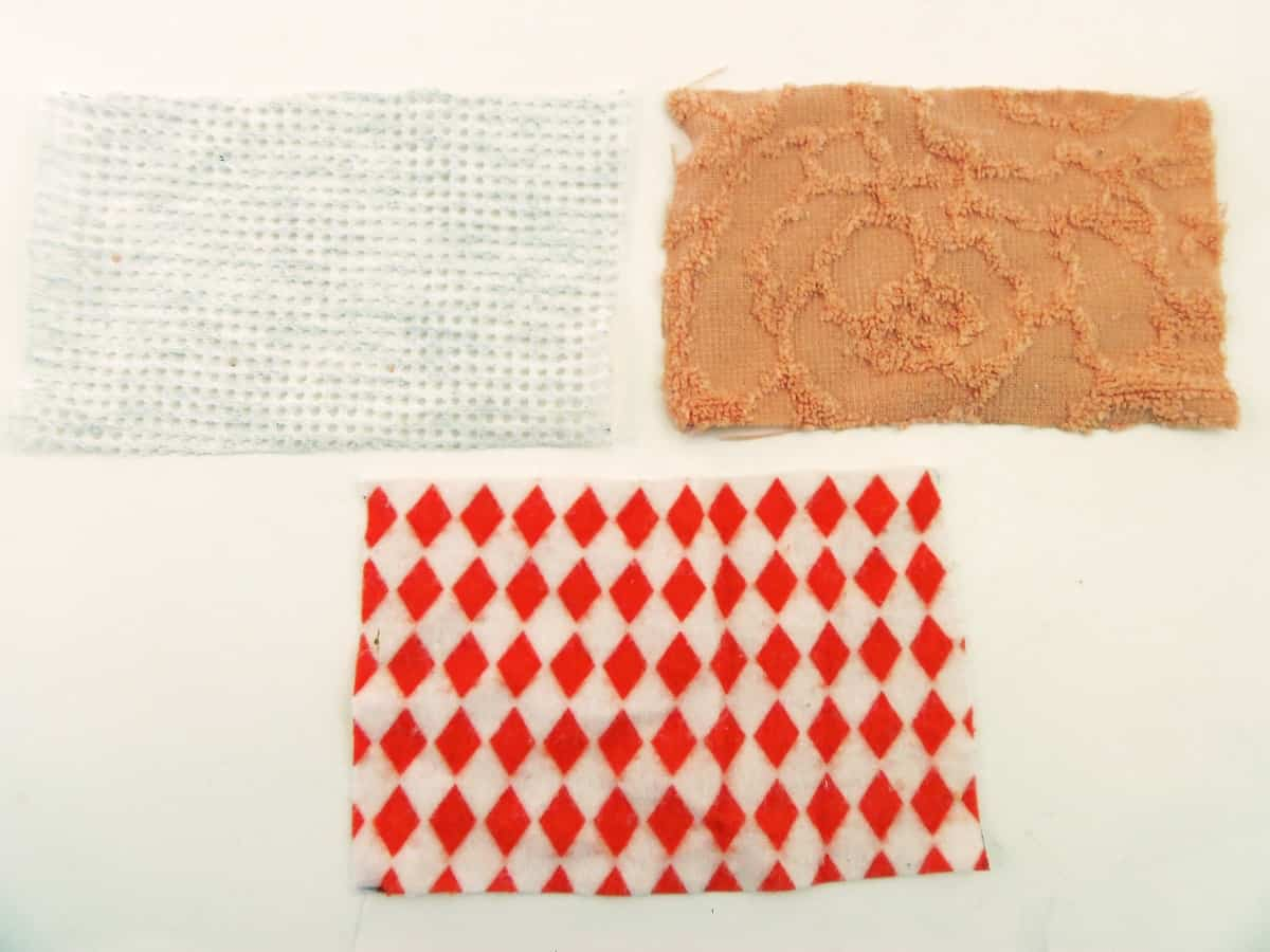 Cut Fabric for Reusable Sponges
