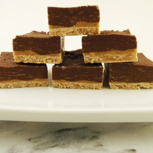 Three-Ingredient Chocolate Peanut Butter Fudge