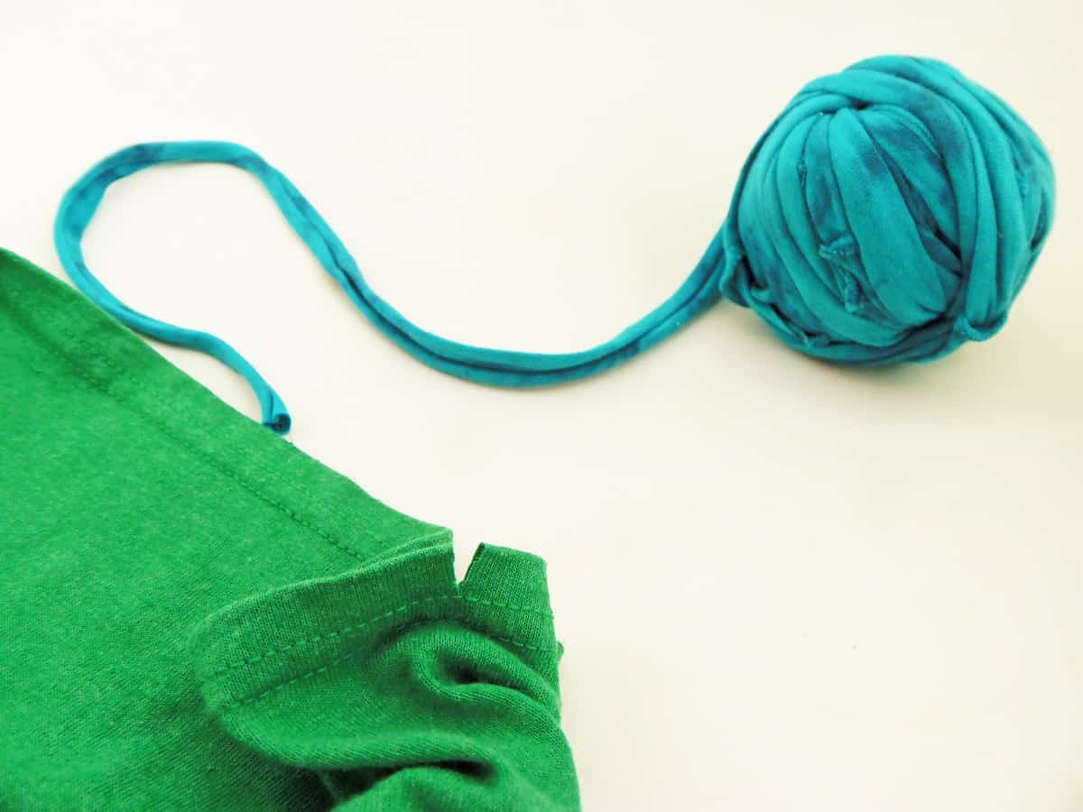 Ball of T-Shirt Yarn