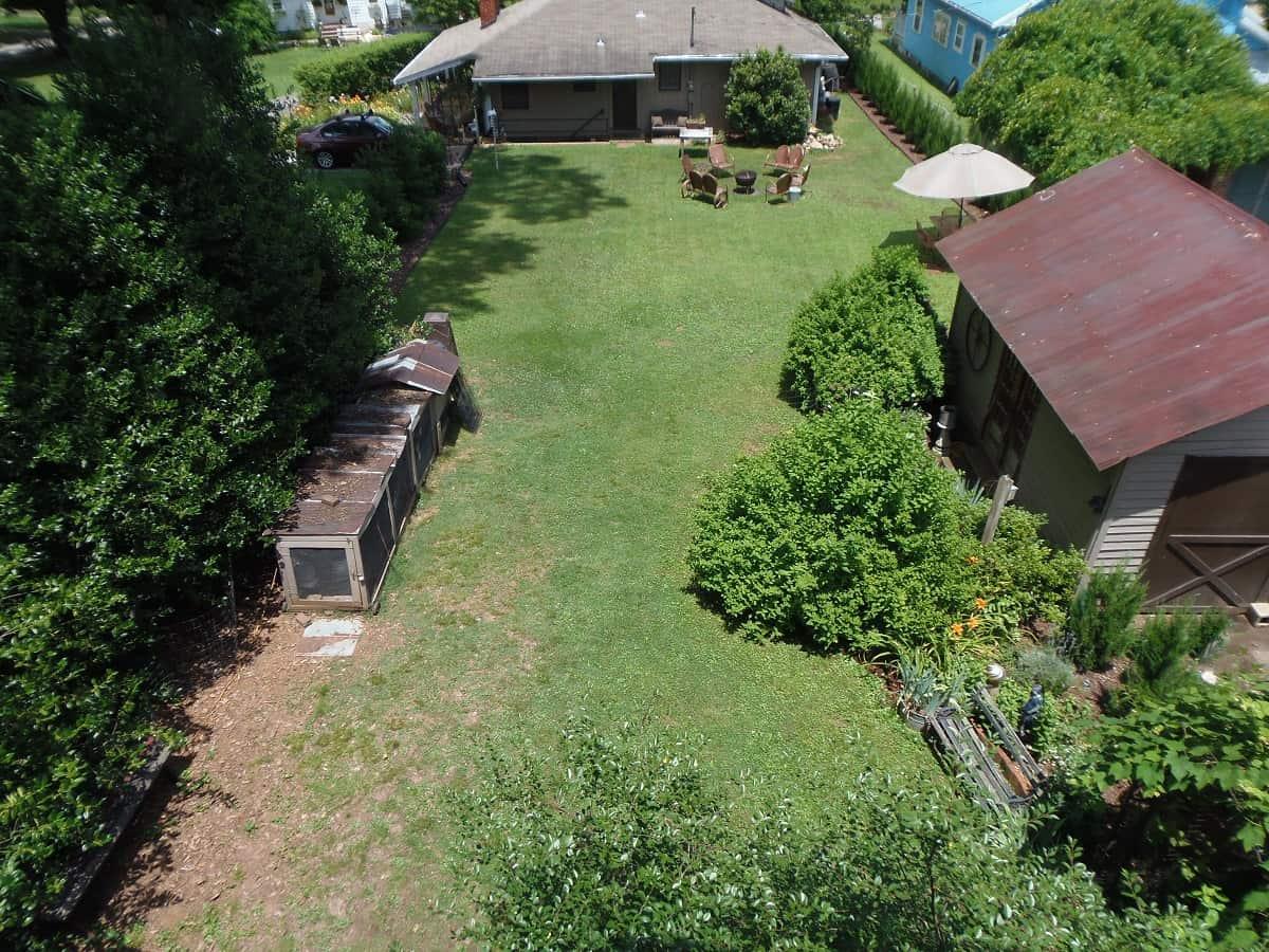 Backyard Overhead View