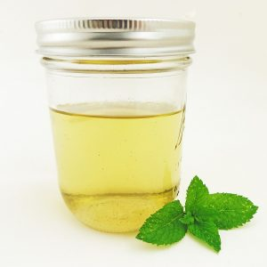 How to Make Peppermint Simple Syrup
