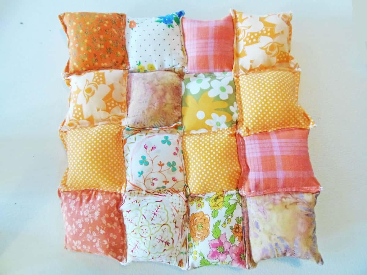 Pillows Sewn Into a Block