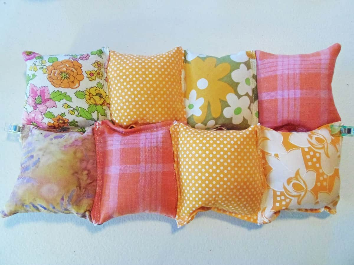Pin Two Rows of Pillows Together