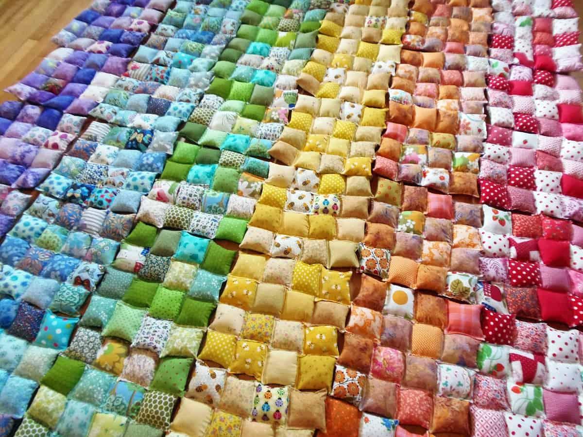 Sew Pillows Into Blocks