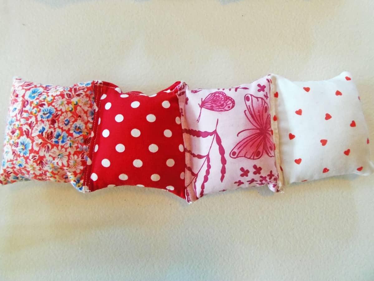 Sew Pillows Into Rows
