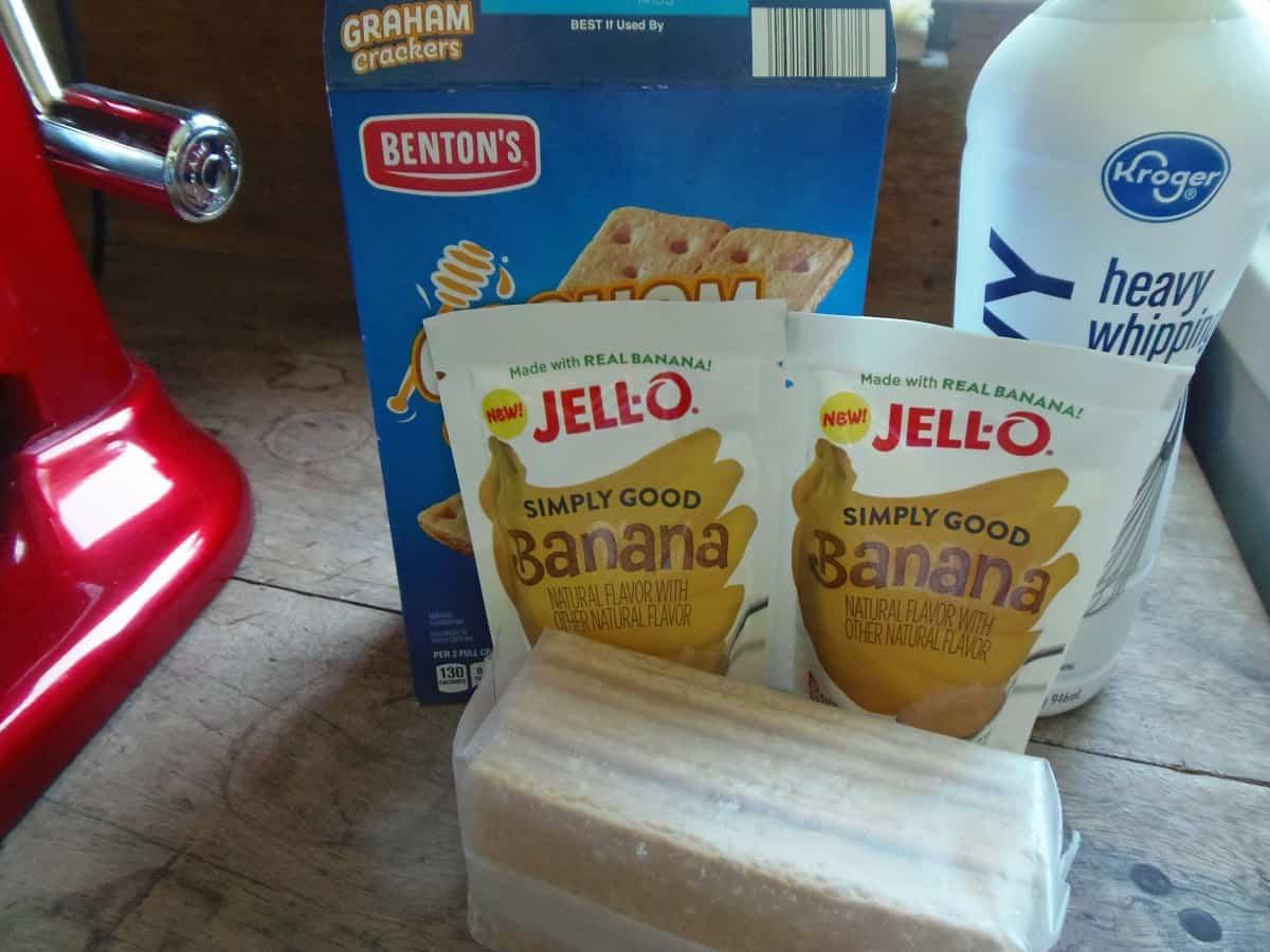 Banana Pudding Icebox Cake Ingredients