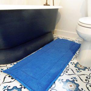 How to Sew a Bath Mat Runner