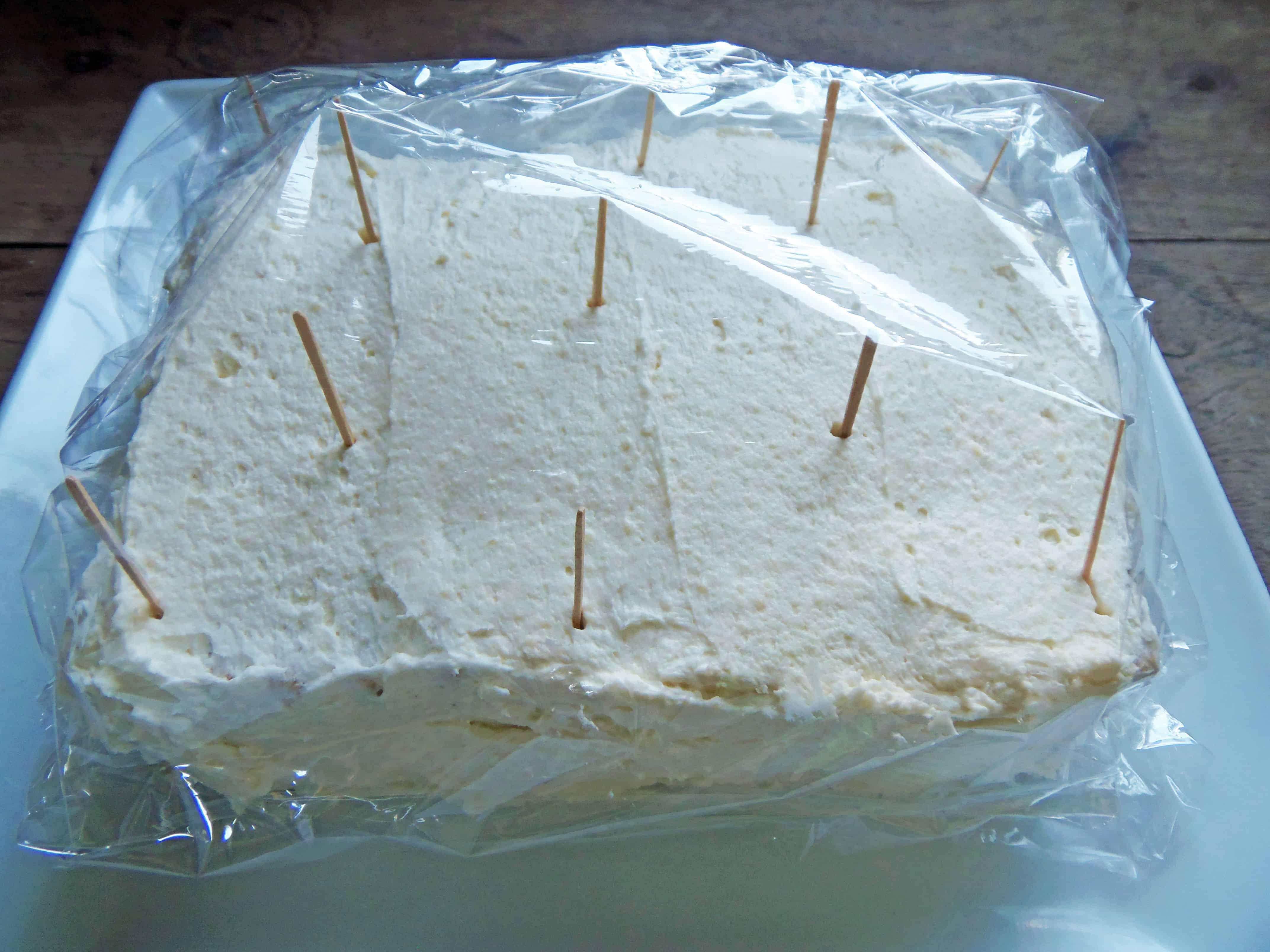 How to Wrap Icebox Cake